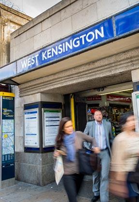 West Kensington Station